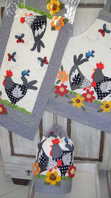 Patchwork gallinas
