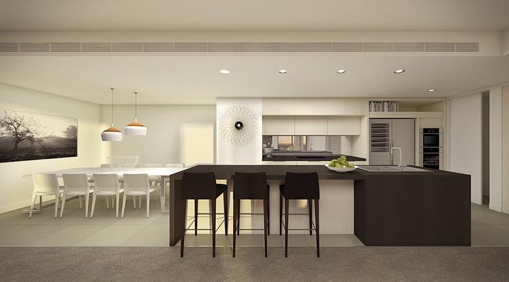 Penthouses - Convesso Concavo Apartments, Victoria Harbour, Melbourne - Lend Lease