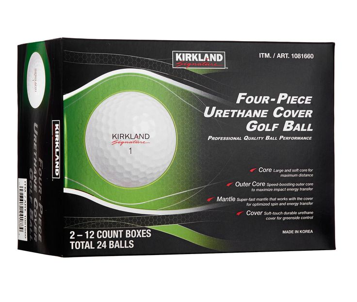 Kirkland Signature Four-Piece Urethane Cover Golf Ball 2-Dozen @ Costco online $29.99 #LavaHot http://www.lavahotdeals.com/us/cheap/kirkland-signature-piece-urethane-cover-golf-ball-2/123403