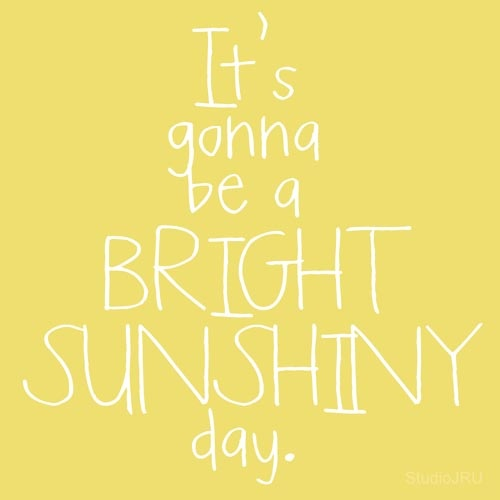 Sunshiny Day printable from StudioJRU  Words of Wisdom  Pinterest  Summer,...