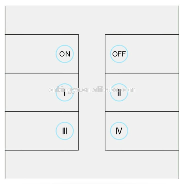 6 gang new style wireless theme Scene switch for Smart Home with android&iOS APP and touch remote control