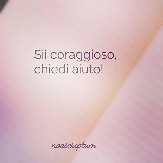 Caro Diario - #noascriptum_carodiario #carodiario #iomicito #poesia #frasi #pensierieparole #riflessioni #aforismi #coraggio #paura #aiuto #sos