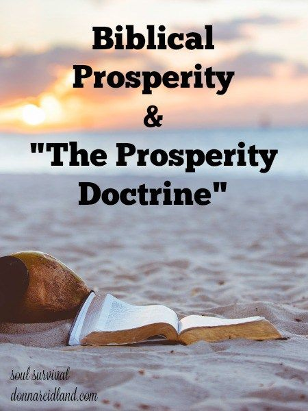 """Biblical Prosperity & 'The Prosperity Doctrine'"" (9.29) #prosperitydoctrine #doctrine"