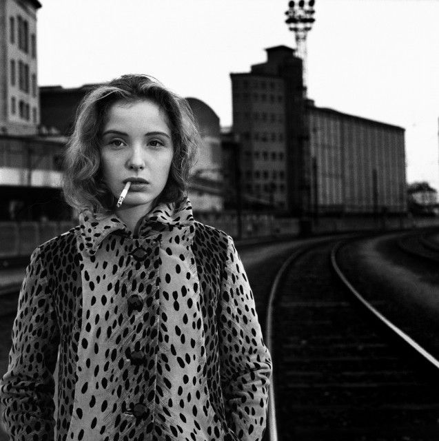 Julie Delpy by Stephane Coutelle, 1989