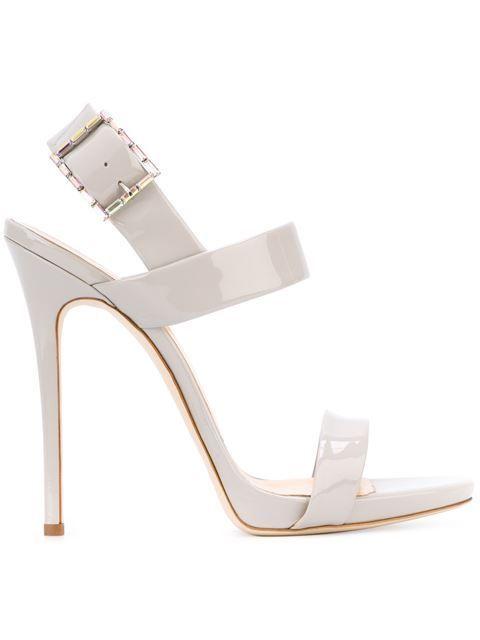 Giuseppe Zanotti Design Double Strap Sandals - Excelsior Milano - Farfetch.com