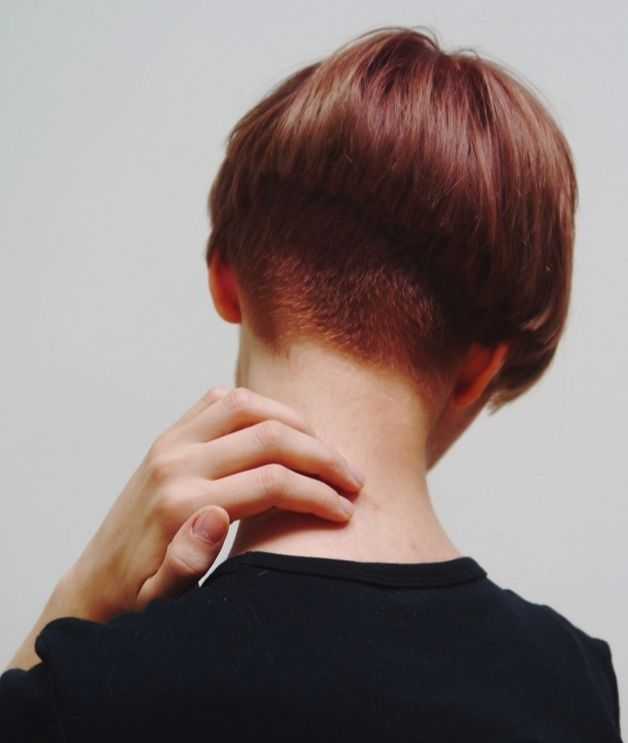 Awesome 25 Best Ideas About Shaved Nape On Pinterest Undercut Undercut Hairstyle Inspiration Daily Dogsangcom