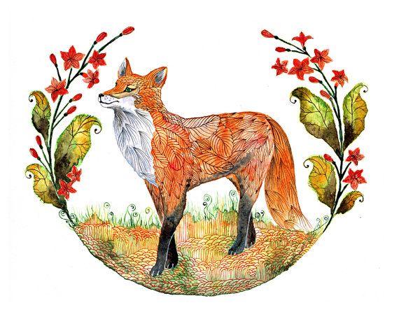 Foxy garden