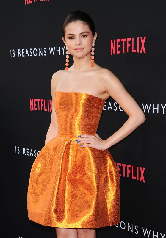 "Selena Gomez ""13 Reasons Why"" Red carpet"