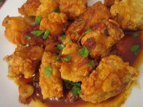 bacalao en salsa de ajoshttp://es.pinterest.com/mikelonemw2/bacalao/