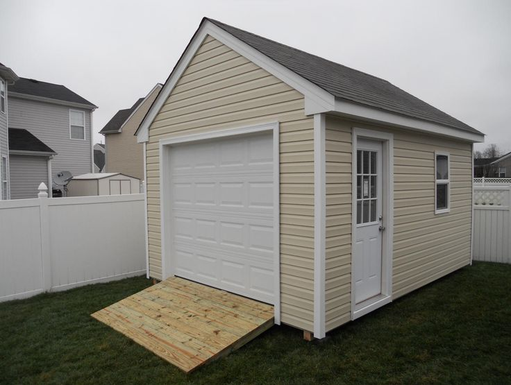10x12 shed plans with loft - Google Search.  I like the garage door idea.  Could we reuse our garage door into the workshop?