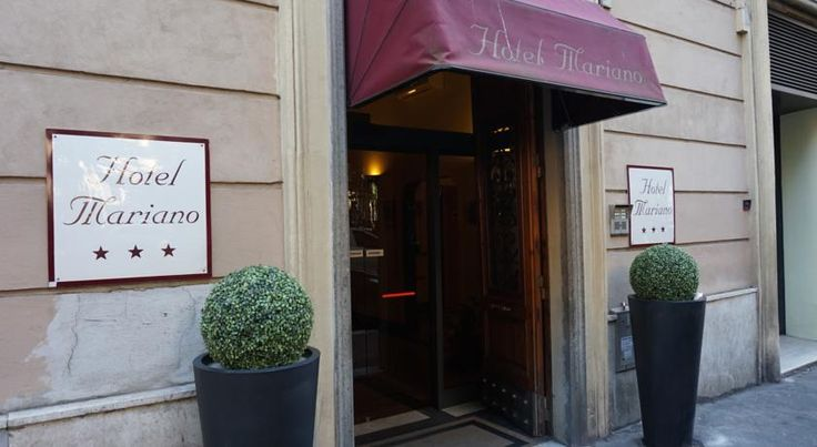 Hotel Mariano Roma Hotel Mariano provides affordable, renovated accommodation right by Termini Train Station. The hotel provides a 24-hour reception with helpful staff.  You will have great bus and Metro links around Rome city centre from Hotel Mariano.