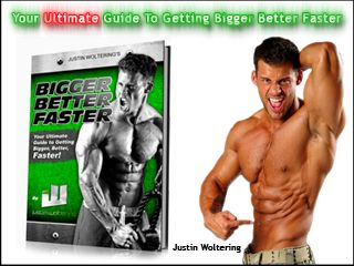The Ultimate Fitness Model Program – Bigger Better Faster. My name is Justin Woltering and I am a Fitness Expert, Celebrity Trainer, and Dymatize Sponsored Athlete. I have been featured on television, The New York Times, Muscle & Fitness, Men's Health, Huffington Post, Reps! Magazine, Men's Fitness, Men's Workout, Calendars, Book Covers, Fragrance and Clothing Campaigns, and much more.