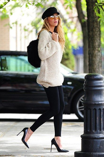 Love the shoe, jumper mix