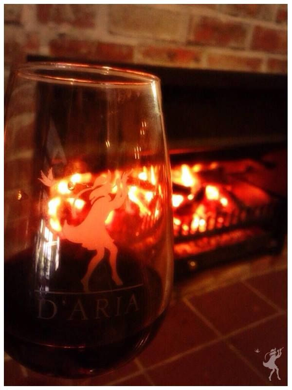 Join us in our Tasting Room this winter. Warm fire and a glass of red! What more could you want?