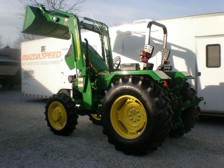john deere 4 wheel drive tractors | 2012 JOHN DEERE 5065E, 4 WHEEL DRIVE TRACTOR W/ JOHN DEERE FRONT END ...