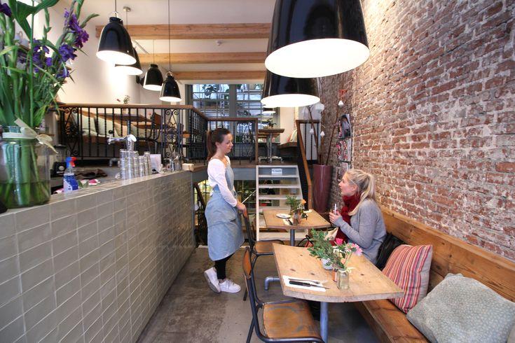 Amsterdam: Tolles Café in der Nähe vom Anne Frank Haus