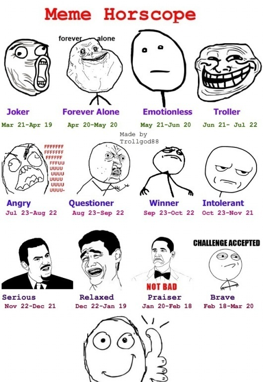 Meme Horoscope JayneDeaux - click if you want more pictures