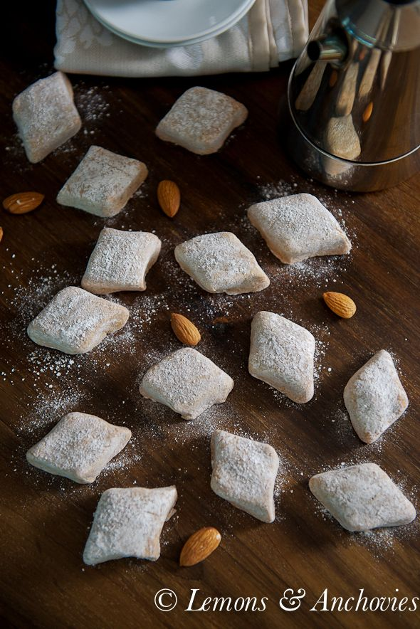 Almond Paste Cookies (with homemade almond paste) ... one of my most favorite cookies of all time.