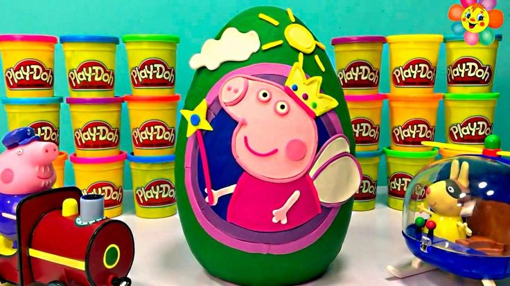 Peppa Pig Play Doh Giant Egg Peppa Pig English Episodes Full Episodes – ...