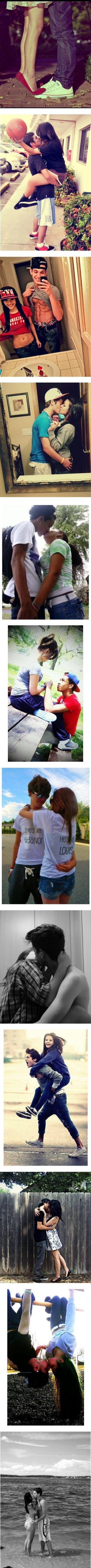 """Le Cute Couples 3"" by hes-to-purdy-for-you ❤ liked on Polyvore. I just realized that the girl on the guy's back is one of my Facebook friends lol"