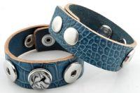 www.schitter-en-glitter.nl  A3 Slangenleer blauw