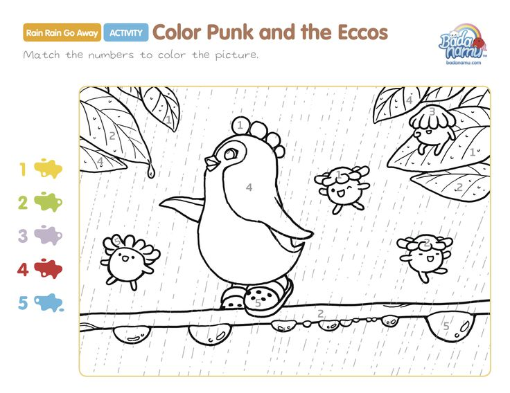 Rain Rain Go Away Coloring Page: 1000+ Images About Pre-K Printable On Pinterest