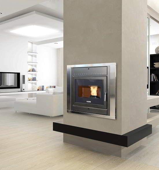 Fantastic Pellet Fireplace Insert - www.unitedfireplaceandstove.com