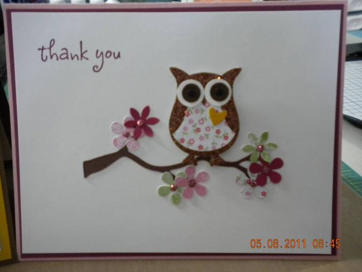 Owl week project by Inprogress - Cards and Paper Crafts at Splitcoaststampers