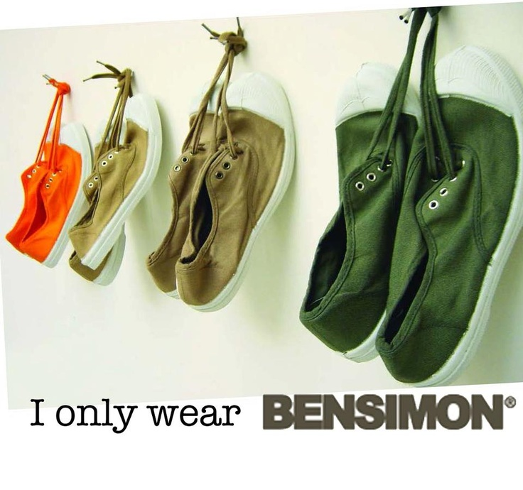 I only wear Bensimon Greece ♥