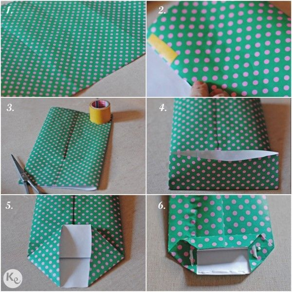 DIY. Paper bag-kid's kit