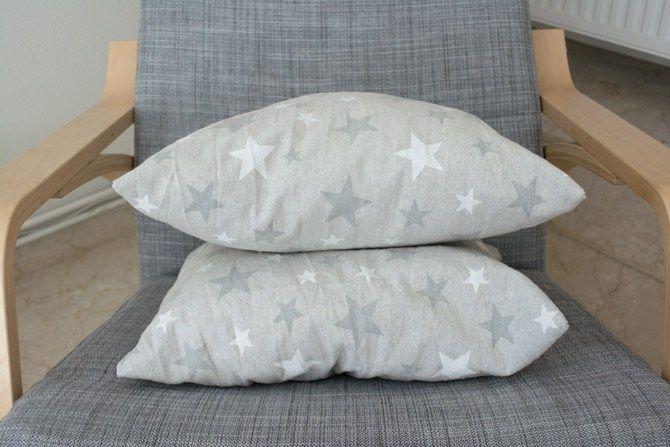 Custom made throw pillows