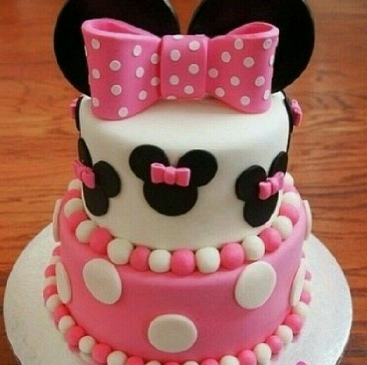 Perfect for a Minnie Mouse themed birthday party for Ariel's first birthday.