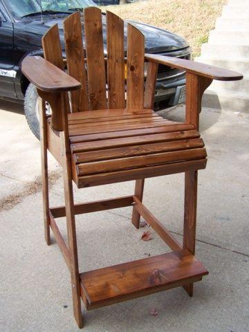 Adirondack bar height bar stool