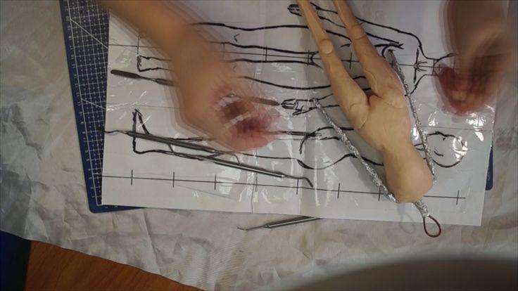 Шарнирная кукла своими руками с нуля часть 3 Как лепить ноги