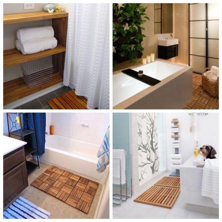 17 meilleures id es propos de caillebotis bois sur for Caillebotis en bois pour salle de bain