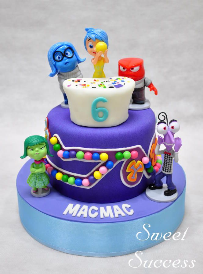 Inside Out Cake & Cupcakes - Cake by Sweet Success