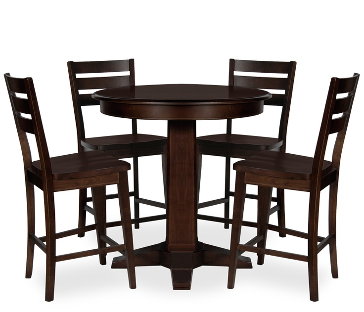 Crate And Barrel Belmont Table Bentley 5-piece Counter Height Dining Set Boston Interiors