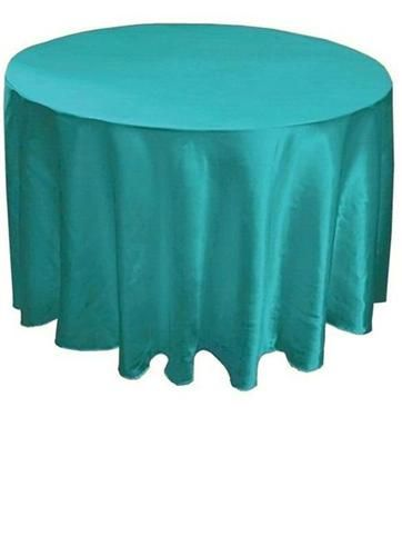 120 Quot Round Satin Teal Turquoise Tablecloth Green Satin