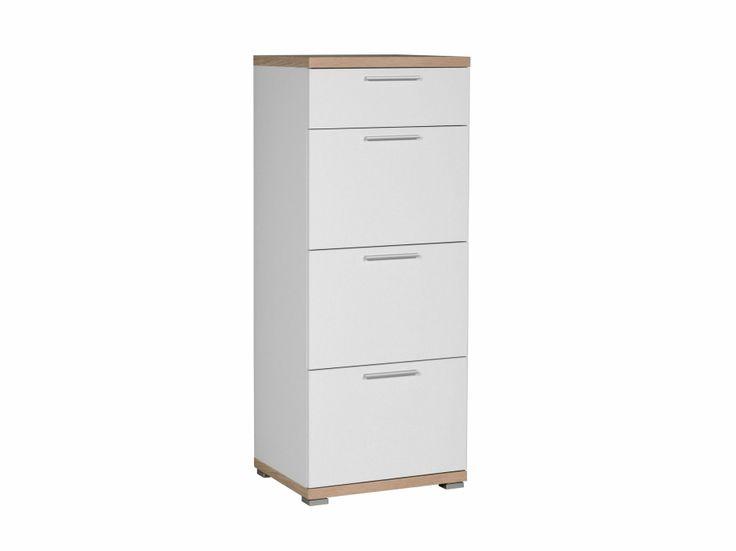TIPTOP Byrå Ek/Vit i gruppen Inomhus / Förvaring / Skåp & Byråar hos Furniturebox (100-55-70469)