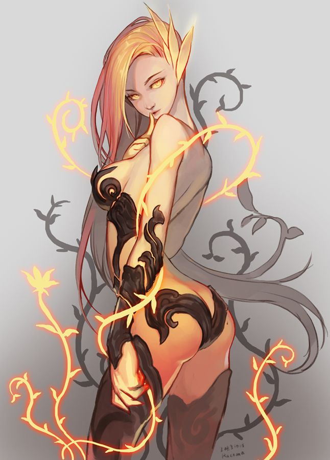 league-of-legends-sexy-girls: Zyra X