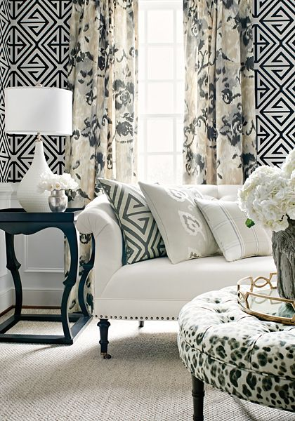 Grasshoppers Interiors Trends - Geometric Mix - Thibaut Style