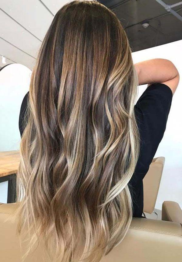 modèles de cheveux longs – idées de couleurs de cheveux et les tendances pour …