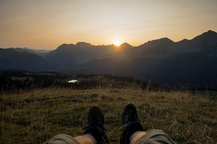 Sunrise Hike in Arosa Switzerland [45003000]