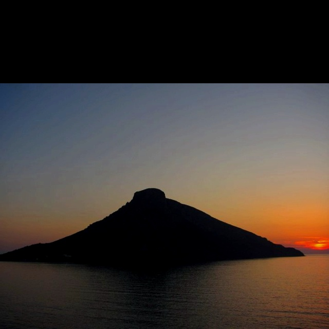 view of Telendos from Massouri, Kalymnos Greece photo from Kalymnos Scooters Best Moto fb