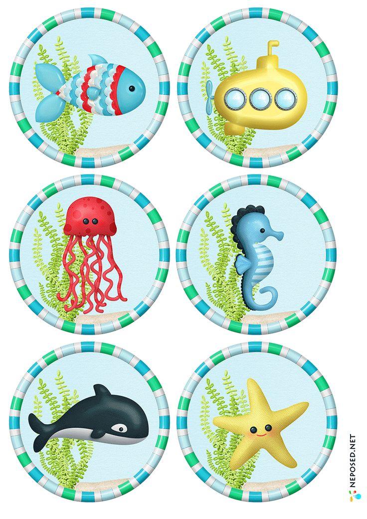 * Deze zeedieren kun je voor vele doeleinden gebruiken.... memorie, zoek iemand die, puzzelen.... 1-4