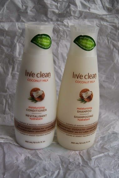 Live Clean Coconut Milk Shampoo & Conditioner  Live Clean would like to offer one of my readers a set of the new Coconut Milk Shampoo & Conditioner.   This giveaway will run from February 18th to March 18th, 2015 (midnight EST).  Winner, You have 72 hours to reply.  You must be 18+ Canadians Only.  Good Luck!  #Review #Giveaway