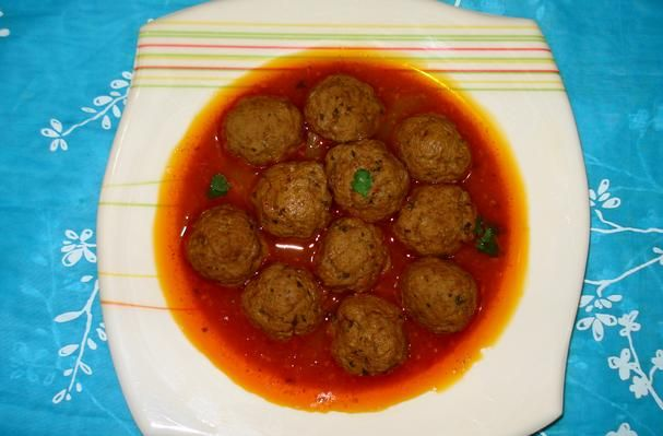 Foodista   Recipes, Cooking Tips, and Food News   Pakistani Kofta Curry/meat Ball Curry