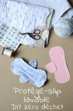 DIY – Protège-slip lavable. Tuto, couture, gratuit, français, écologique, e…