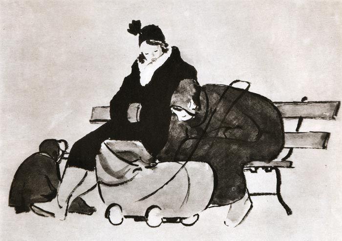 all_drawings: Леонид Владимирович Сойфертис (1911-1996гг).