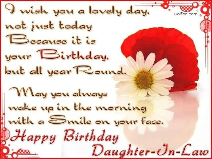 Happy Birthday Daughter In Law Birthday Daughter In Law